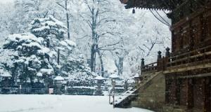 Zenkoji temple Nagano Japan