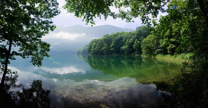 Hakuba Lake Aokiko Panorama