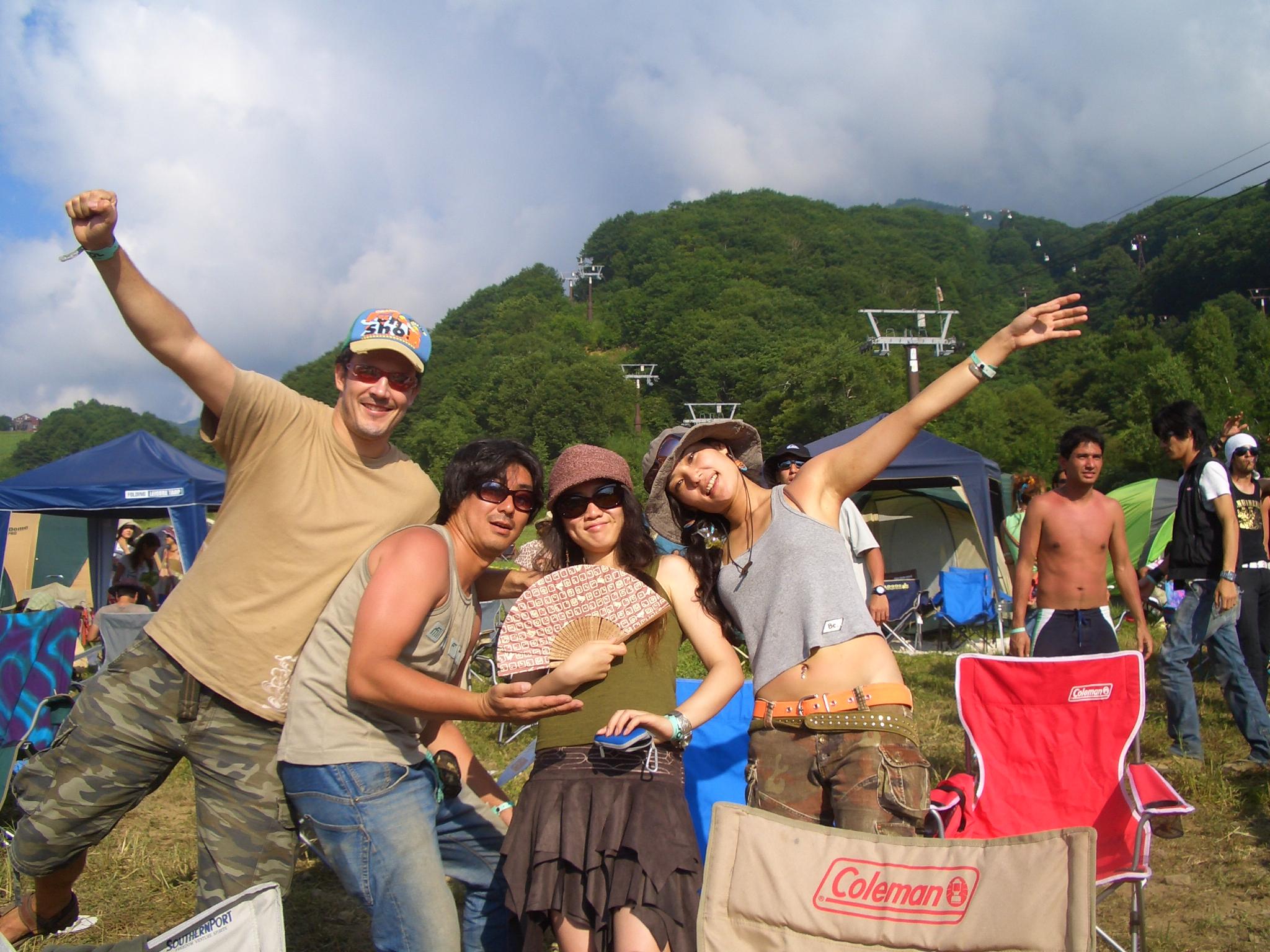 Matt & Yukie with Ryuji & Satomi