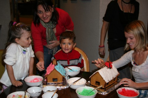 It wouldnt be Christmas without Gingerbread Houses