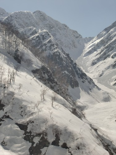 backcountry terrain Hakuba