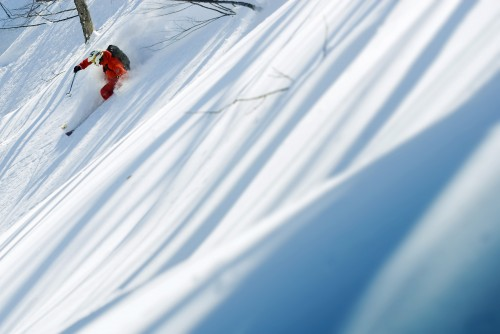 Hakuba powder lines