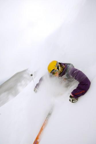 Ski powder in Japan